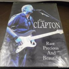 Vídeos y DVD Musicales: DVD. ERIC CLAPTON - RARE PRECIOUS AND BEATIFUL. Lote 63098816