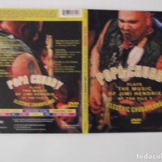 Vídeos y DVD Musicales: POPA CHUBBY - PLAYS THE MUSIC OF JIMI HENDRIX / ELECTRIC CHUBBYLAND. Lote 63210052