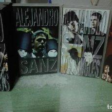 Vídeos y DVD Musicales: TRES CINTAS DE VIDEO ALEJANDRO SANZ LOS SINGLES, ALEJANDRO SANZ Y EL CONCIERTO TOUR MAS 98. Lote 63415452