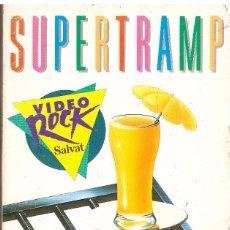 Vídeos y DVD Musicales: VHS SUPERTRAMP: THE STORY SO FAR... - OFERTAS DOCABO. Lote 64516915
