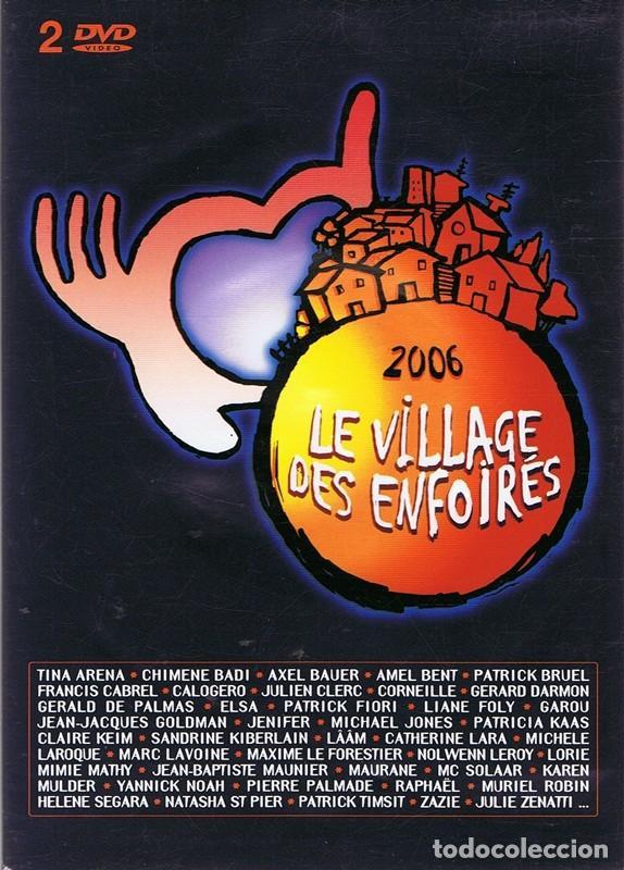 DVD LE VILLAGE DES ENFOIRÉS 2006 ( 2 DISCOS) (Música - Videos y DVD Musicales)