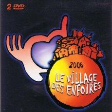 Vídeos y DVD Musicales: DVD LE VILLAGE DES ENFOIRÉS 2006 ( 2 DISCOS). Lote 64740939