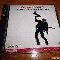 Vídeos y DVD Musicales: BRYAN ADAMS WAKING UP THE NEIGHBOURS DIGITAL VIDEO CD 1992 7 TEMAS VIDEO CD NO DVD 40 MINUTOS CD-I. Lote 64993255