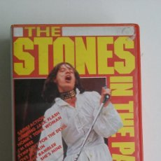 Vídeos y DVD Musicales: VHS/THE STONES IN THE PARK- HYDE PARK JULIO 1969.. Lote 65876210