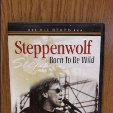 Vídeos y DVD Musicales: STEPPENWOLF. BORN TO BE WILD. DVD / ALL STARS - 2007 / LUJO.. Lote 66857090