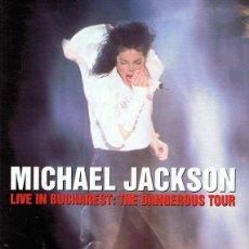 Vídeos y DVD Musicales: DVD MICHAEL JACKSON ¨LIVE IN BUCHAREST THE DANGEROUS TOUR¨. Lote 66859038