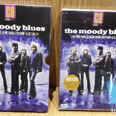 Vídeos y DVD Musicales: THE MOODY BLUES - LA HISTORIA COMPLETA EN EDICION LIMITADA - DOBLE DVD + CD + LIBRETO / LUJO.. Lote 66860370