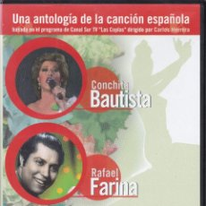 Vídeos y DVD Musicales: LA COPLA(CONCHITA BAUTISTA,RAFAEL FARINA Y OTROS) EDICION 2004. Lote 235737450