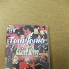 Vídeos y DVD Musicales: DVD TOM JONES LADIES NIGTH . Lote 68530841