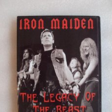 Vídeos y DVD Musicales: IRON MAIDEN, THE LEGACY OF THE BEAST, DOCUMENTAL DEL GRUPO, CHROME DREAMS PREDUCTIONS 2004. Lote 68670225