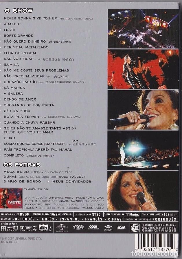 MARACANA BAIXAR DVD IVETE SANGALO