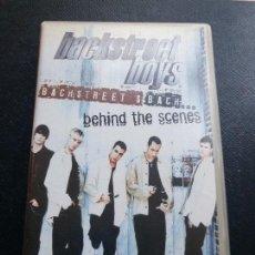 Vídeos y DVD Musicales: CINTA VHS BACKSTREET BOYS BEHIND THE SCENES. Lote 69303721