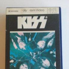 Video e DVD Musicali: VHS/KISS-CRAZY NIGHTS.. Lote 69496641