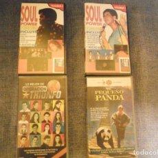 Vídeos y DVD Musicales: SOUL POWER - 17 SUPEREXITOS - VOL.1 Y VOL.2 - EN 2 CINTAS VHS - VER FOTOS. Lote 69800973