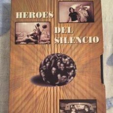Vídeos y DVD Musicales: VHS HÉROES DEL SILENCIO. PARASIEMPRE. Lote 70177701
