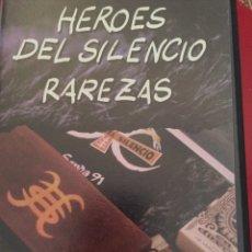 Vídeos y DVD Musicales: VHS HÉROES DEL SILENCIO. RAREZAS. Lote 70242466