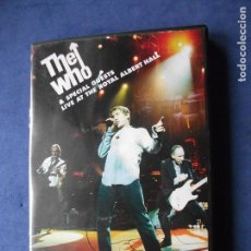Vídeos y DVD Musicales: THE WHO & SPECIAL GUESTS LIVE AT ROYAL ALBERT HALL DOBLE DVD COMO NUEVO¡¡ PEPETO. Lote 71217433