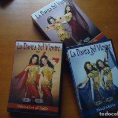 Vídeos y DVD Musicales: 2 DVD BOX PACK LA DANZA DEL VIENTRE MUY BUEN ESTADO VEENA NIVEL MEDIO INICIACION AL BAILE . Lote 71652539