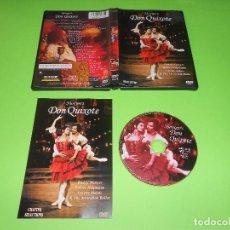 Vídeos y DVD Musicales: NUREYEV'S DON QUIXOTE - DVD REGION USA - ROBERT HELPMANN - AUSTRALIAN BALLET - DON QUIJOTE. Lote 72207503