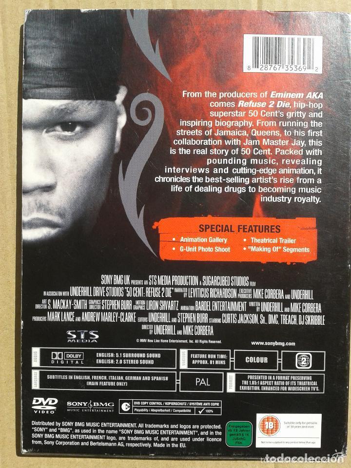 Vídeos y DVD Musicales: 50 CENT**** REFUSE 2 DIE **** HIP HOP - Foto 2 - 73778447