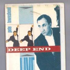 Vidéos y DVD Musicaux: PETE TOWNSHEND - DEEP END (VHS 1988). Lote 74633899