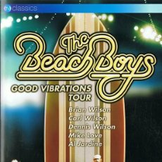 Vídeos y DVD Musicales: DVD THE BEACH BOYS GOOD VIBRATIONS TOUR . Lote 74686683