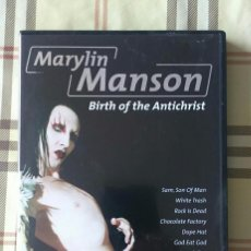 Vídeos y DVD Musicales: MARILYN MANSON BIRTH OF THE ANTICHRIST DVD INDUSTRIAL ROCK A?OS 90. Lote 74714175