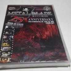 Vidéos y DVD Musicaux: DVD - VARIOUS ?– METAL BLADE RECORDS - 25TH ANNIVERSARY - B9. Lote 75036399