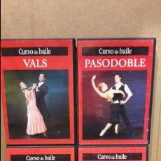 Vídeos y DVD Musicales: CURSO DE BAILE. VALS / TANGO / PASODOBLE / MERENGUE / 4 DVD DE LUJO. EDITA. RBA.. Lote 75051483