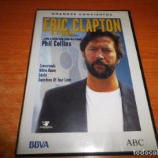 Vídeos y DVD Musicales: ERIC CLAPTON & FRIENDS DVD 2003 ABC ESPAÑA PHIL COLLINS DURACION 59 MINUTOS 9 TEMAS. Lote 75629215