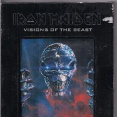 Vídeos y DVD Musicales: IRON MAIDEN. VISIONS OF THE BEAST. Lote 75744351