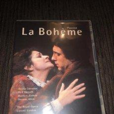 Vídeos y DVD Musicales: LA BOHÈME - ROYAL OPERA DE COVENT GARDEN [REINO UNIDO] [DVD SUBTITULOS ESPAÑOL] -. Lote 75745067