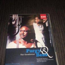 Vídeos y DVD Musicales: PORGY AND BESS - [DVD] [1993] [2001] - WILLARD WHITE -. Lote 75746235