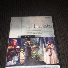 Vídeos y DVD Musicales: GIUSEPPE VERDI - LA TRAVIATA - DVD DOBLE - TEATRO VERDI - PLÁCIDO DOMINGO - SUBTITULOS ESPAÑOL -. Lote 75746683