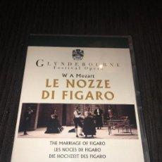 Vídeos y DVD Musicales: LE NOZZE DI FIGARO - MOZART - DVD - GLYNDEBOURNE FESTIVAL OPERA 1994 -. Lote 75747507