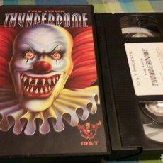 Vídeos y DVD Musicales: THUNDERDOME THE TOUR ID&T VHS MUY DIFÍCIL Y RARO.VER FOTO PARA DISCOTECAS DEL TOUR. Lote 96135436