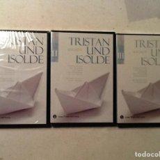 Vídeos y DVD Musicales: TRISTAN UND ISOLDE 3 DVD BICENTENARIO DEL NACIMIENTO DE R.WAGNER Y G.VERDI, . Lote 76610419