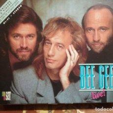 Vídeos y DVD Musicales: ESTUCHE CON DOS CINTAS VHS DEL FAMOSO GRUPO BEE GEES ESTADO COMO NUEVO. Lote 76638723