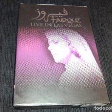 Vídeos y DVD Musicales: FAIRUZ - LIVE IN LAS VEGAS DVD ( 2XDVD)- REGION 1 / SMC DVD. Lote 76676839