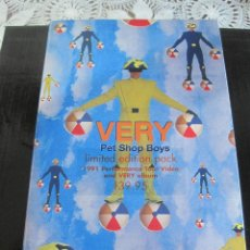 Vídeos y DVD Musicales: PET SHOP BOYS- VERY LIMITED EDITION PACK BOX - CD+ VIDEO PROMOCIONAL-AUSTRALIA-. Lote 83878274