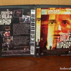 Vídeos y DVD Musicales: EMINEM - EL PROYECTO DE LA BRUJA DEL HIP HOP -DVD. Lote 78326417
