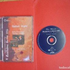 Vídeos y DVD Musicales: DVD: ITALIAN NIGHT. BERLINER PHILARMONIKER, ABBADO. WALDBÜHNE BERLIN 1996 (TDK, 2002) RARO ¡ORIGINAL. Lote 79147469