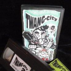Vídeos y DVD Musicales: TWANG-CITY VOL.2 (1993) - VÍDEO FANZINE VHS / 713 AMOR - THE PLEASURE FUCKERS - ORANGE BABOONS. Lote 79499025