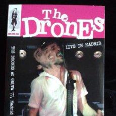 Vídeos y DVD Musicales: DVD - THE DRONES - LIVE IN MADRID. Lote 79628557