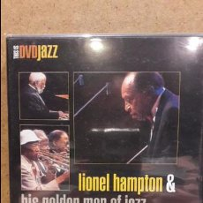 Vídeos y DVD Musicales: DVD / JAZZ / LIONEL HAMPTON & HIS GOLDEN MEN OF JAZZ / RECORDED LIVE / MUNICH / PRECINTADO.. Lote 80391049