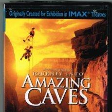 Vídeos y DVD Musicales: THE MOODY BLUES: JOURNEY INTO AMAZING CAVES (VIAJE A LAS CUEVAS ASOMBROSAS). DVD DOBLE = REGALO DE... Lote 80748782