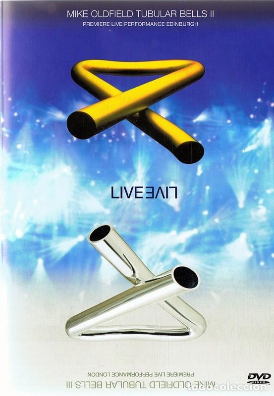 DVD MIKE OLDFIELD TUBULAR BELLS II & III LIVE (Música - Videos y DVD Musicales)