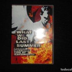 Vídeos y DVD Musicales: ROBBIE WILLIAMS LIVE AT KNEBWORTH 2003. Lote 81697060