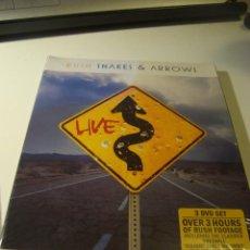 Vidéos y DVD Musicaux: RAR 3 DVD SET. RUSH. SNAKES ARROWS. WITH STICKER. Lote 81933828