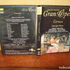 Vídeos y DVD Musicales: CARMEN - GEORGES BIZET - DIRECTOR JAMES LEVINE - THE METROPOLITAN OPERA CHORUS - DVD. Lote 83155968